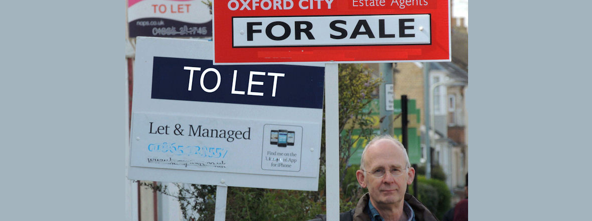 'Help tackle Oxford's housing crisis' Cllr. Dick Wolff