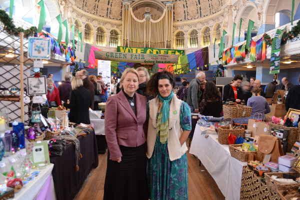 2012 Green Fair, Natalie Bennett and Sushila Dhall