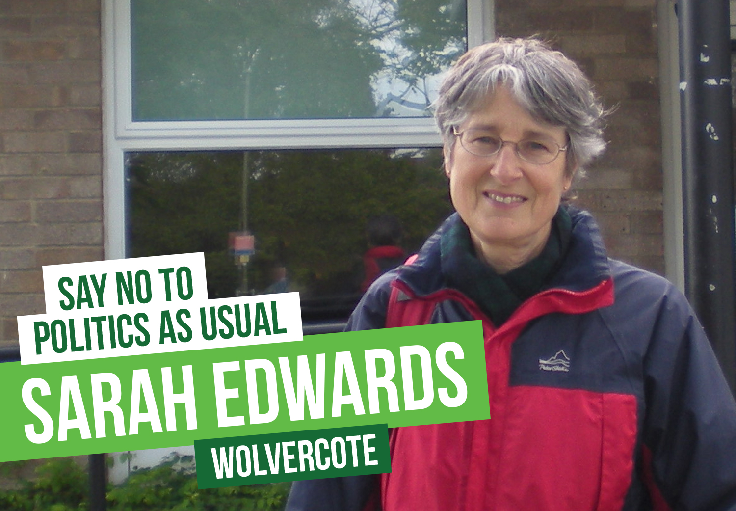 Sarah Edwards, candidate for Wolvercote