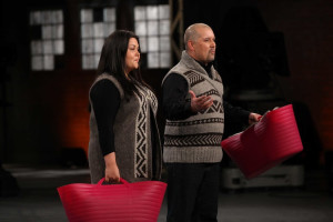 Joni and I pitched Salish Fusion Knitwear on the Dragon's Den in April 2012.