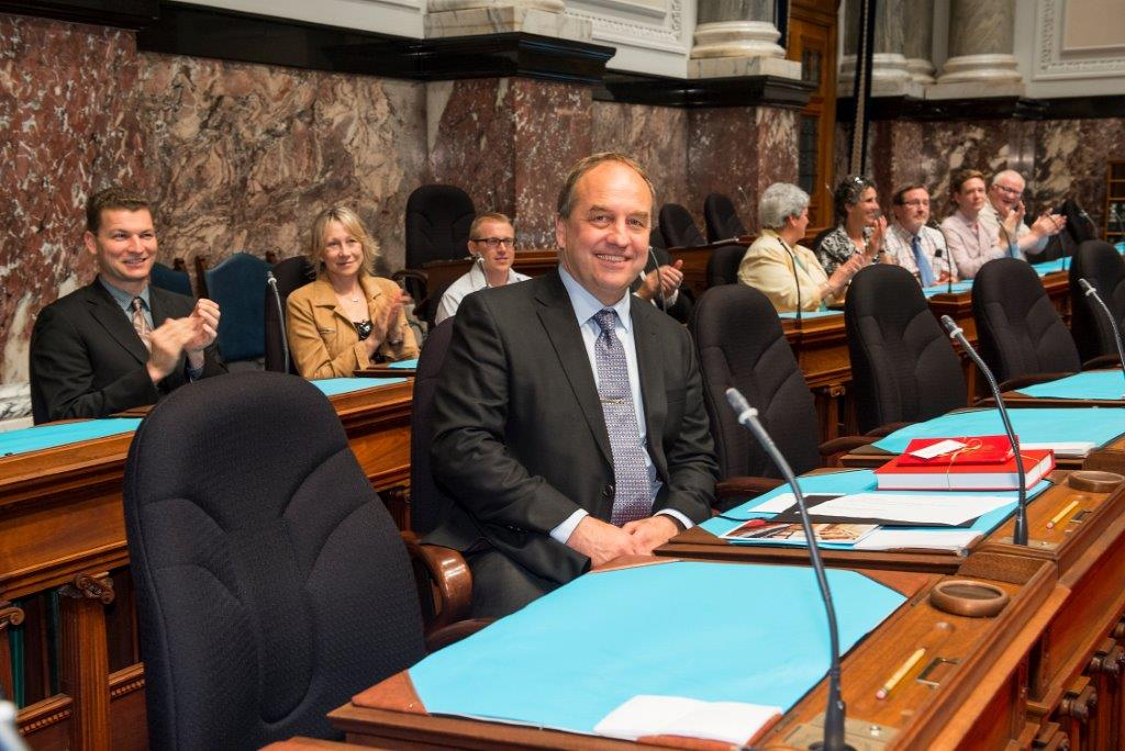 Andrew Weaver in Legislature