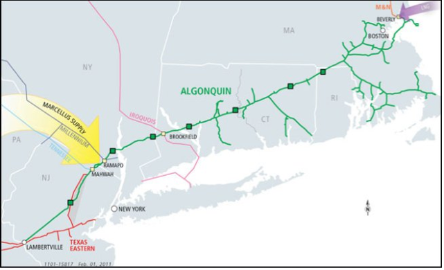 Pipeline Routes - Green-Rainbow Party