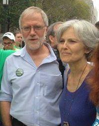 Howie Hawkins & Jill Stein side by side