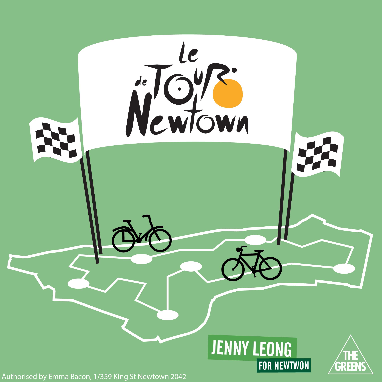Tour De Newtown