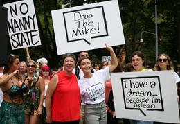 Sydney CBD Lockouts protest rally