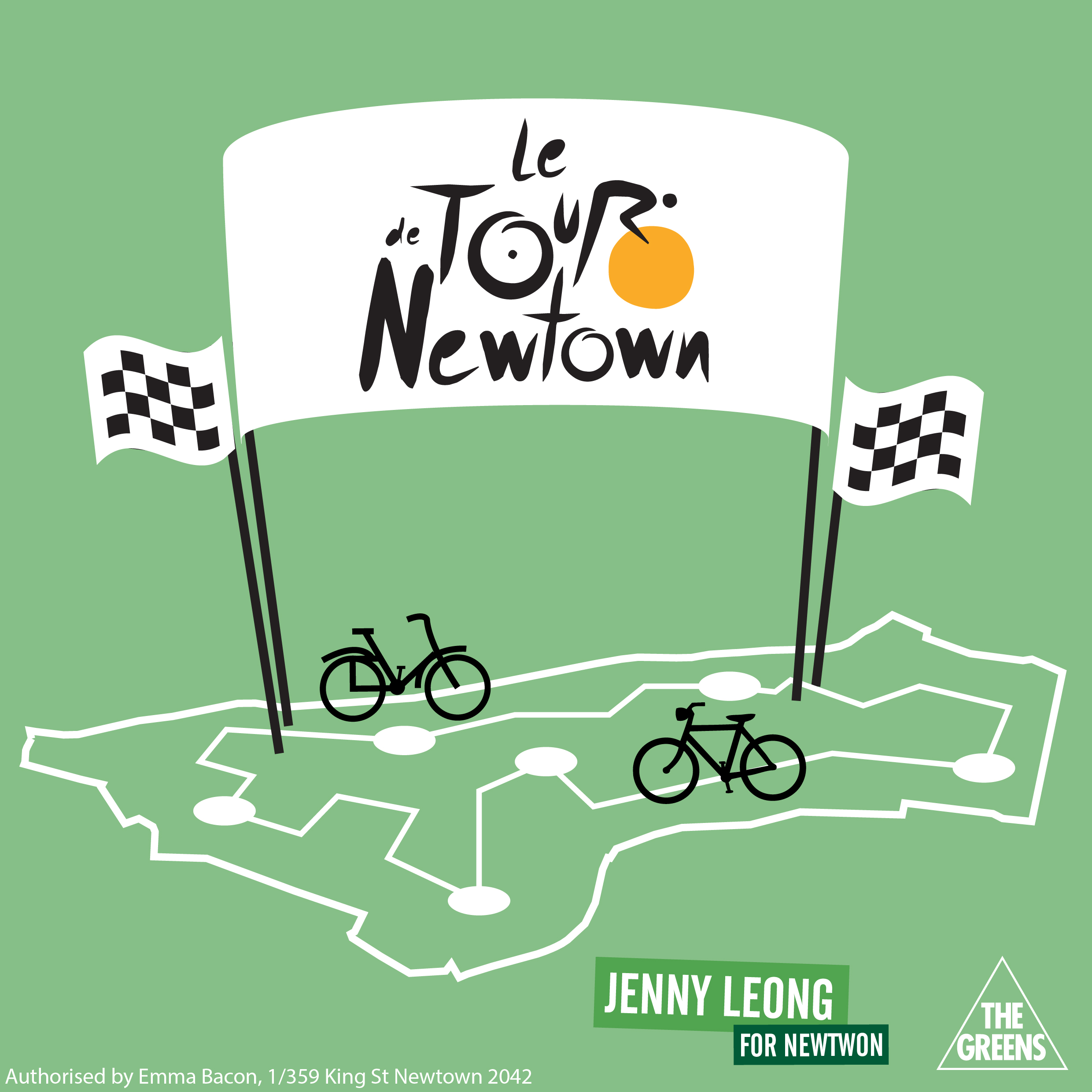 Tour De Newtown