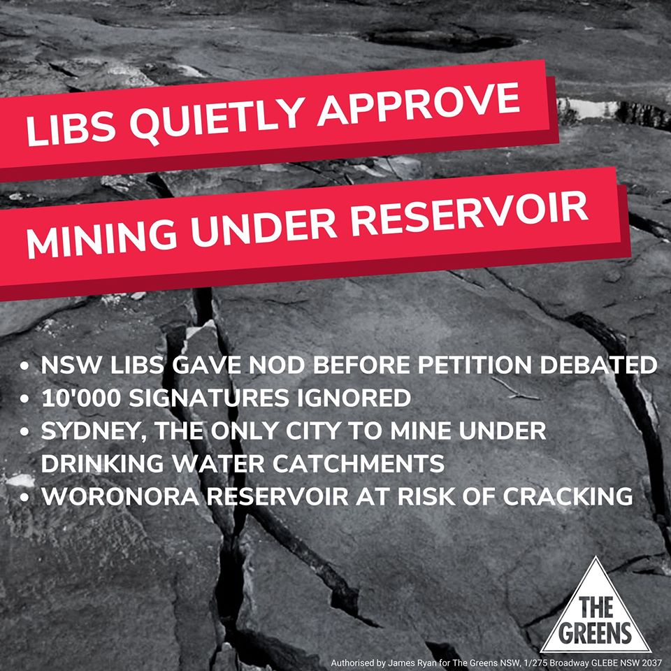 Say no to new mining approvals during COVID-19