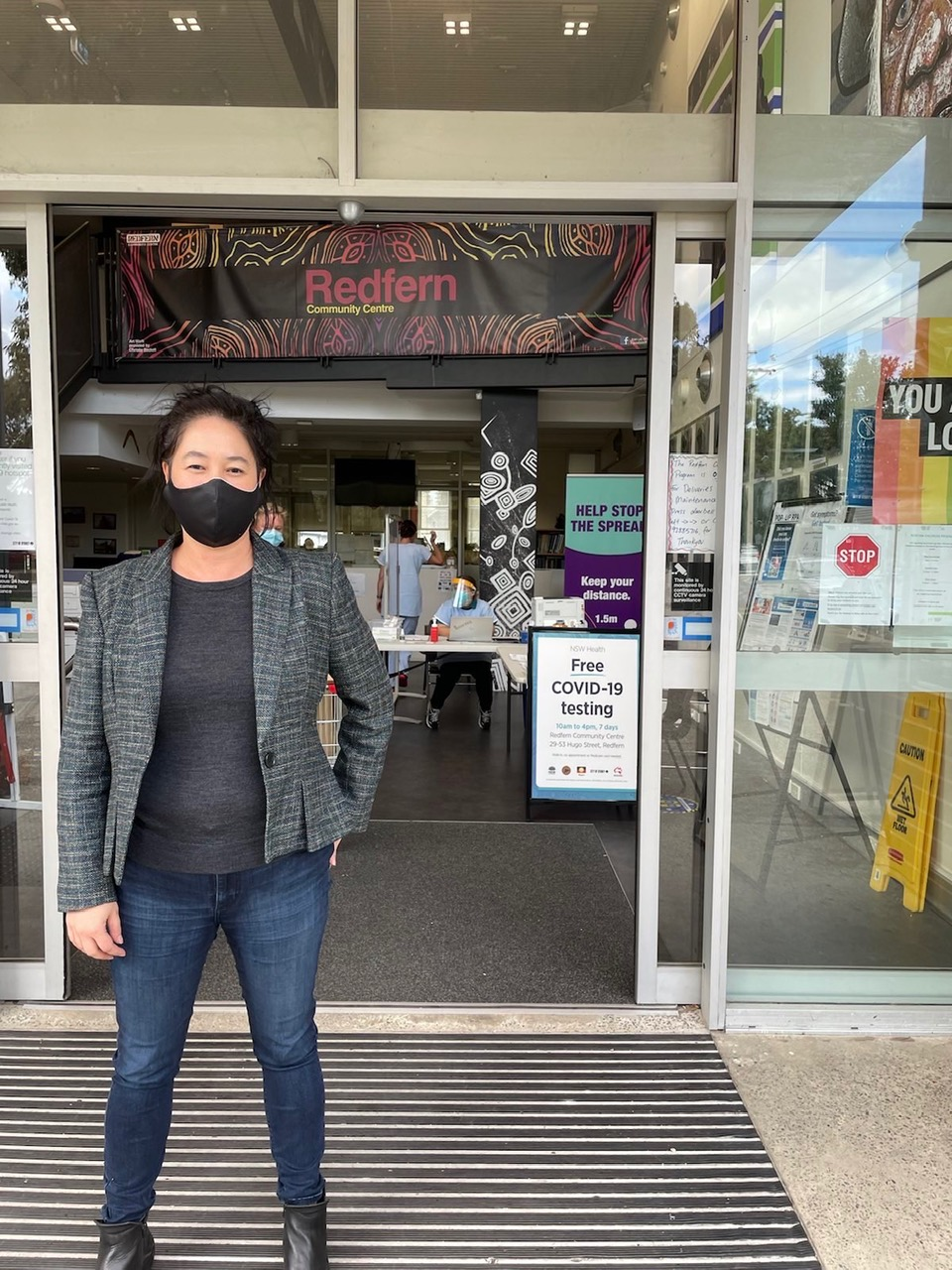 There is a new testing clinic at Redfern Community Centre