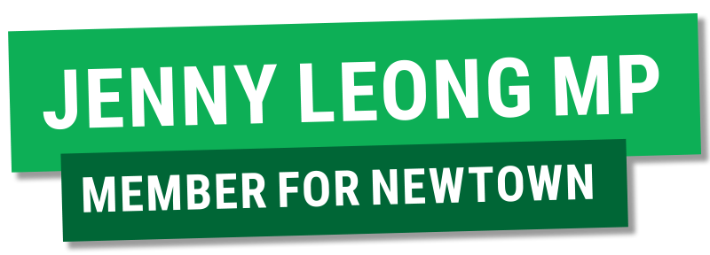 Jenny Leong MP - Member for Newtown