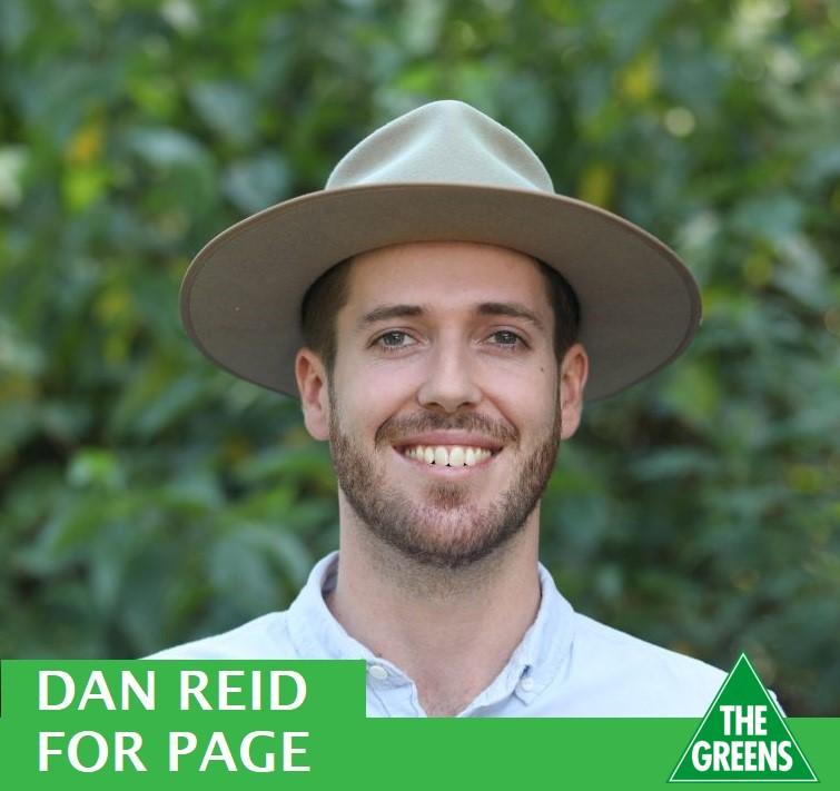 Dan Reid for Page