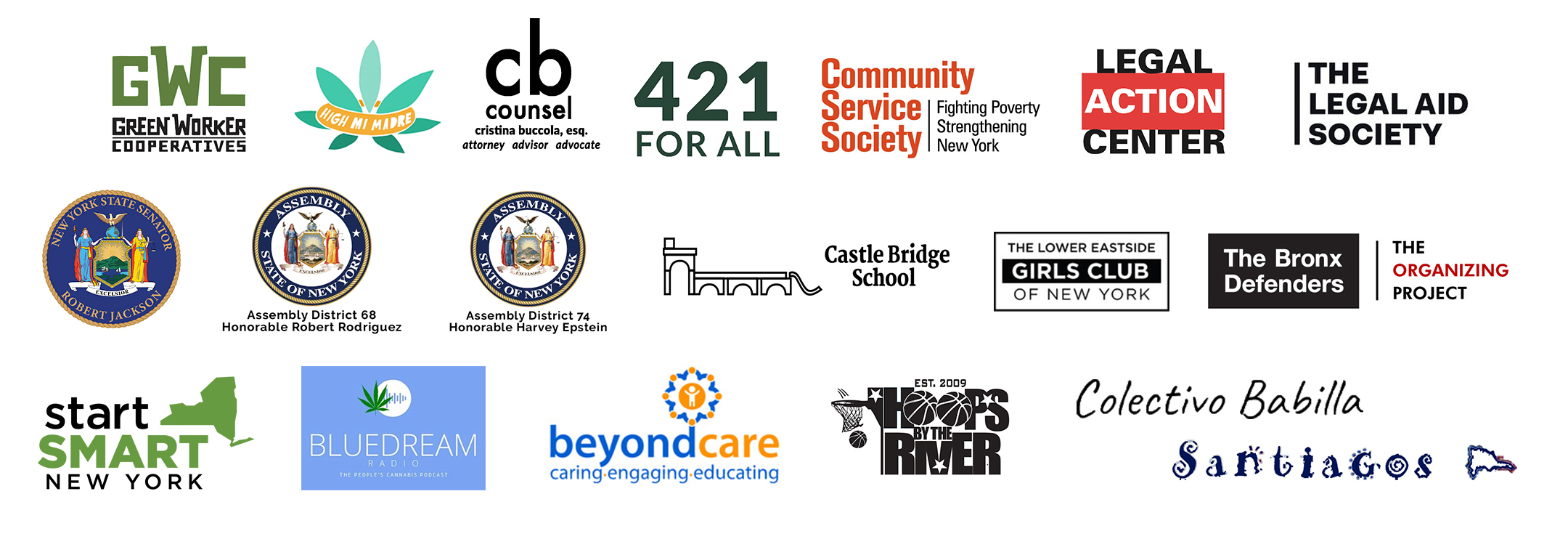 Local Sponsors for Criminal Justice Liberation Resource Fair