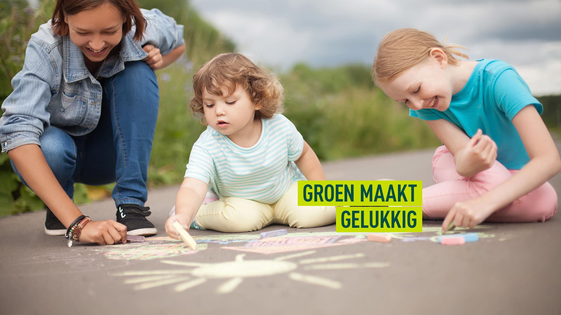 Groen maakt geluk inzet van verkiezingen groen