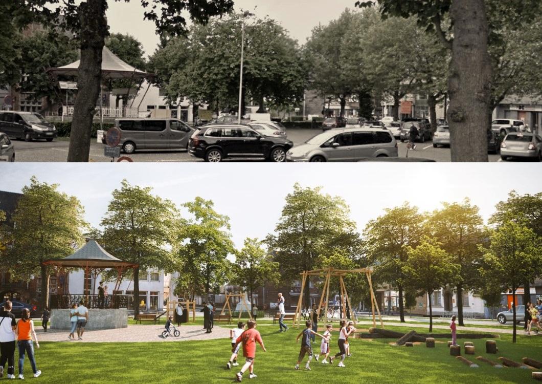 <h2>Oostakkerdorp</h2><div>Na een intensief traject met bewoners zijn de plannen voor een nieuw dorpsplein klaar.</div>