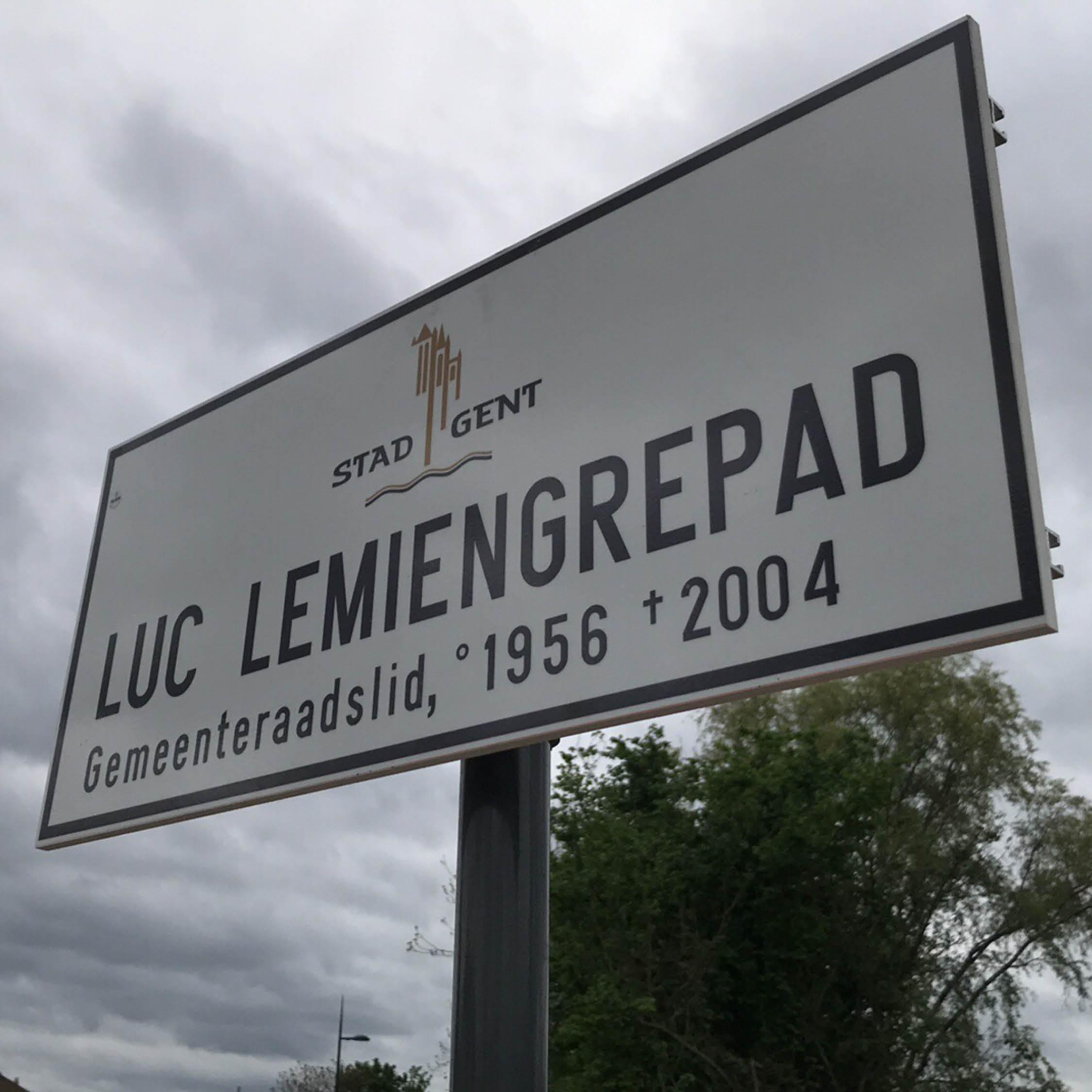 Naambord Luc Lemiengrepad