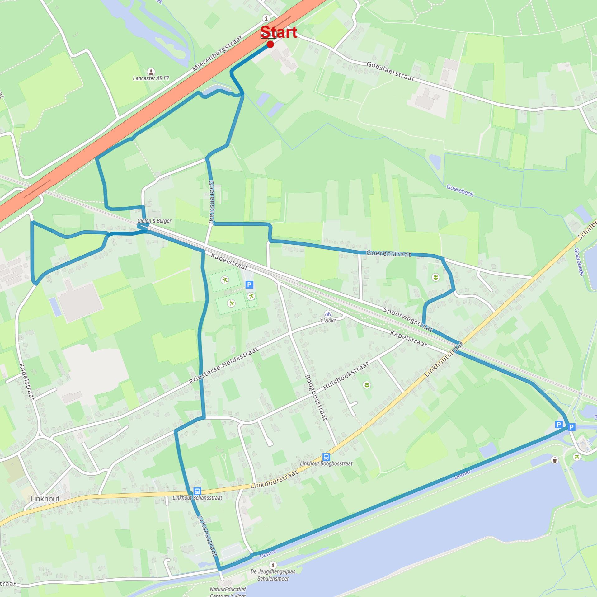 Wandeling Linkhout