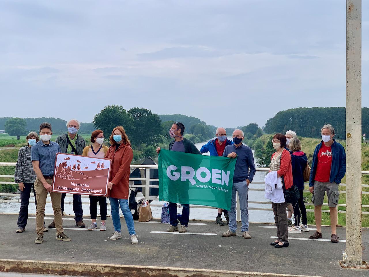 Groenen uit West-Vlaanderen (Beernem, Oostkamp)