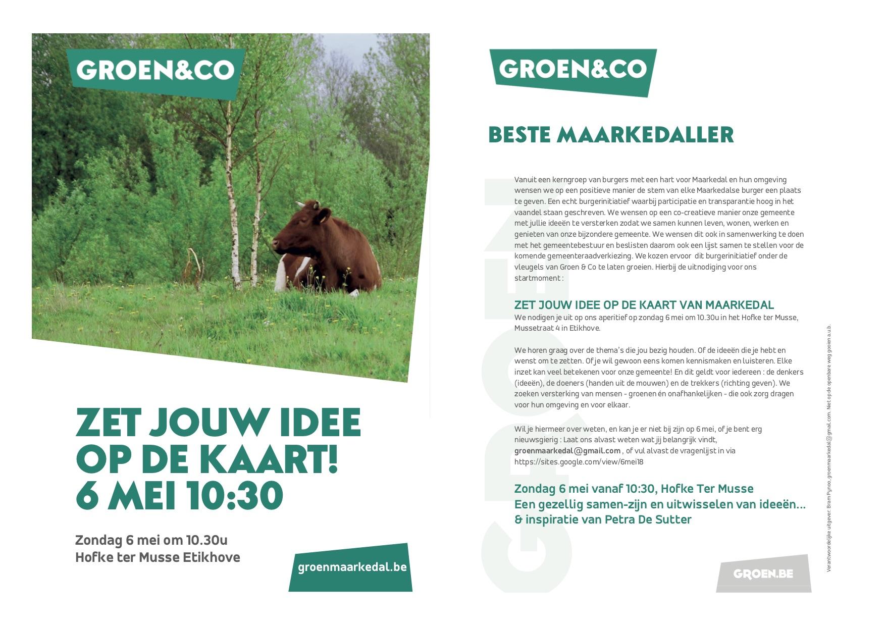 Flyer aperitief 6 mei 18