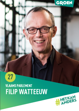 Lijstduwer Vlaams Parlement