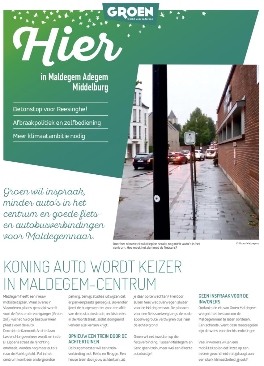 Hier in Maldegem, Adegem en Middelburg, najaar 2019