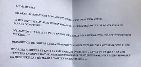 Propere Zwalmstappers