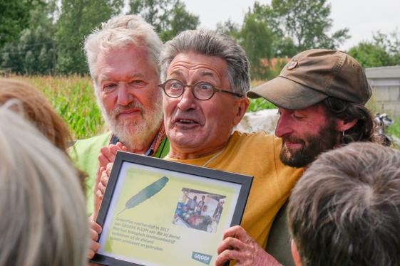Bernd met Louis en Hugo
