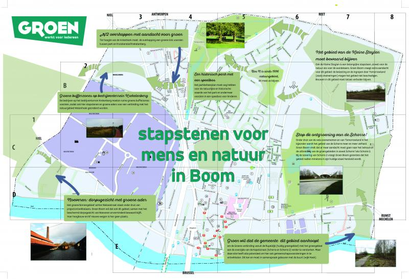stapstenenplan van Groen Boom