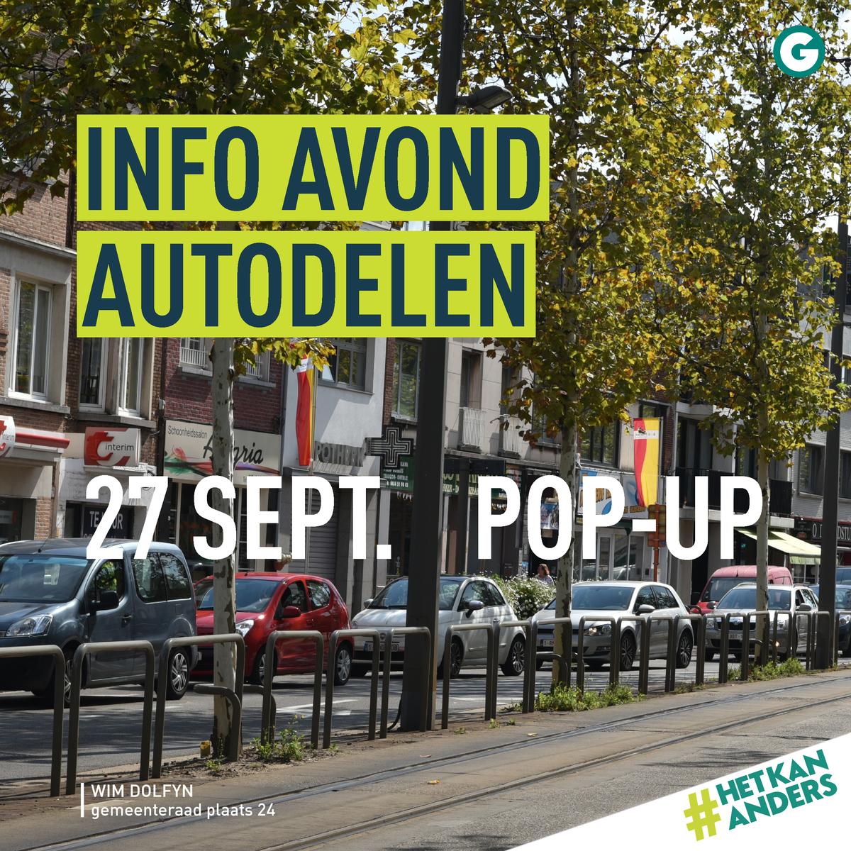 Infoavond Over Autodelen Groen Mortsel