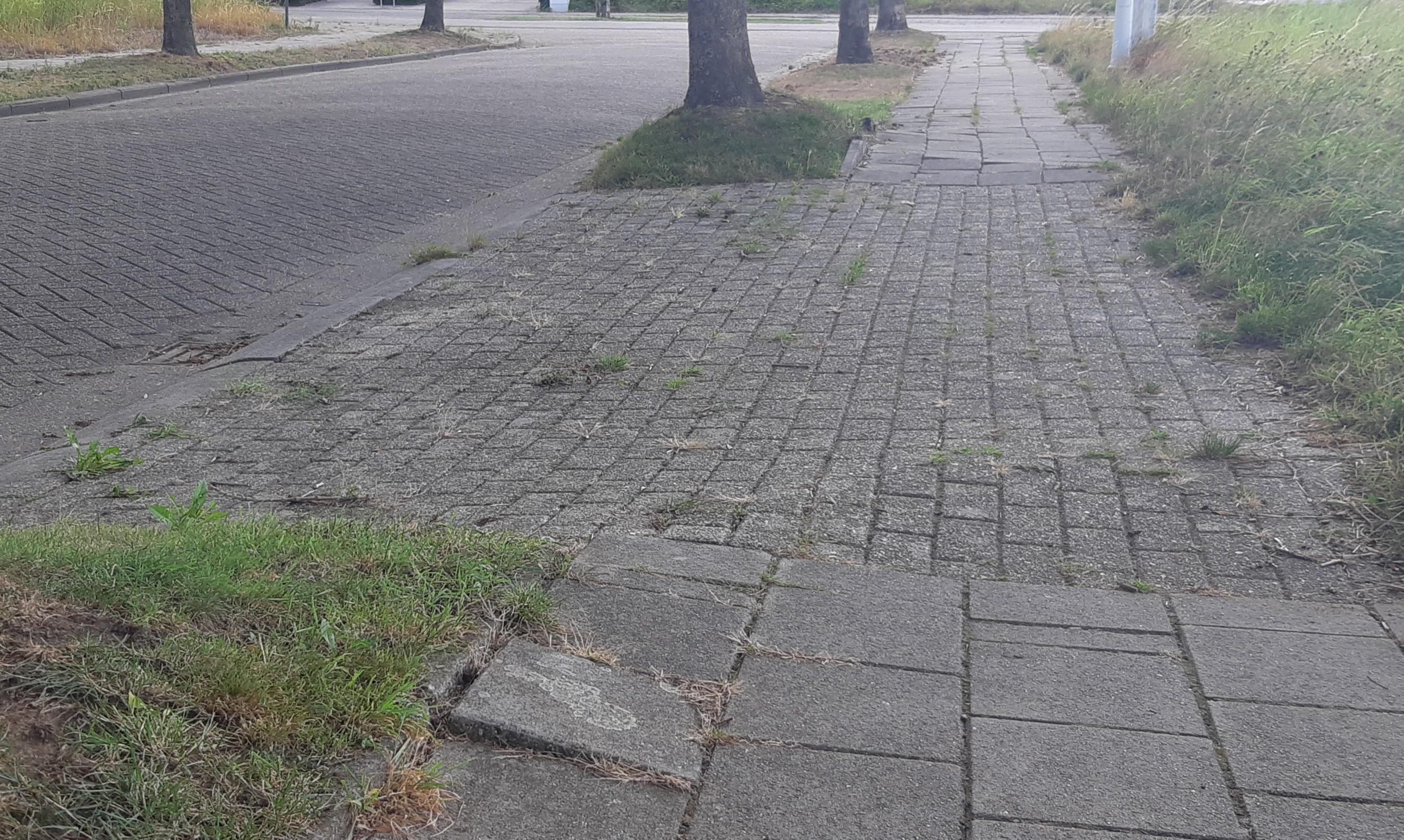 Oude situatie Rode-Kruisstraat