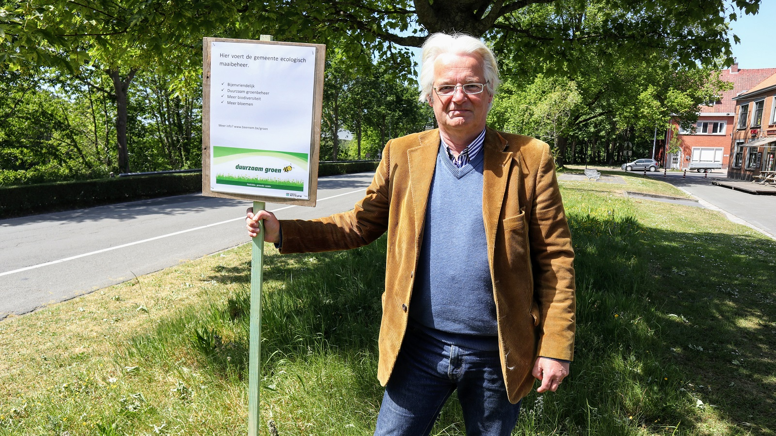 Jan Vanassche op middenberm aan JH The Nooddle