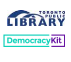 DemocracyKit Workshops @ Toronto Public Library