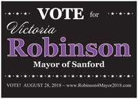 Civic Campaigner Campaign to Elect Victoria Robinson as Mayor of Sanford in Sanford FL