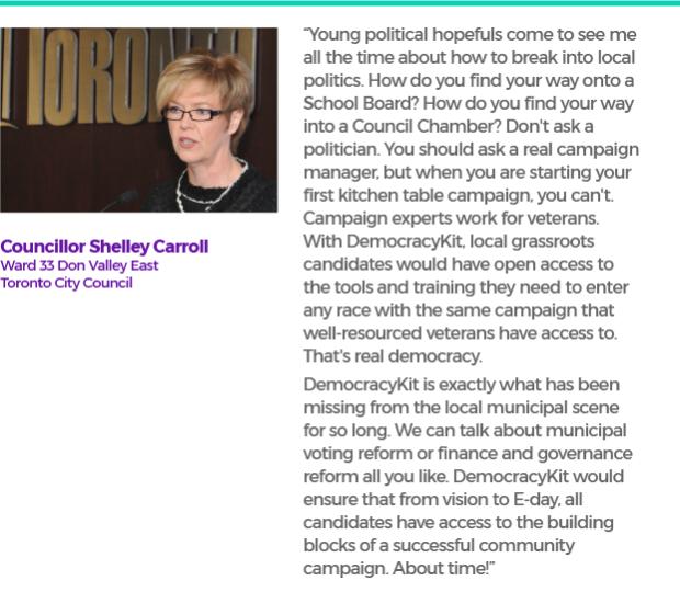 Councillor Shelley Carroll