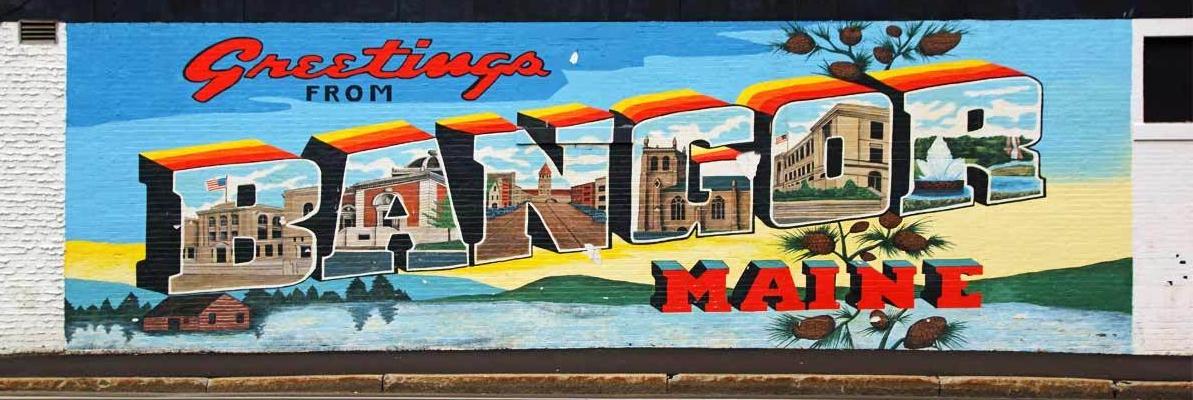 Welcome to Bangor Mural