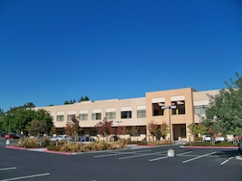 The Stanford Research Park is an auto-centered, single use office park