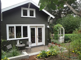 Secondary homes can be built in the backyard of existing homes