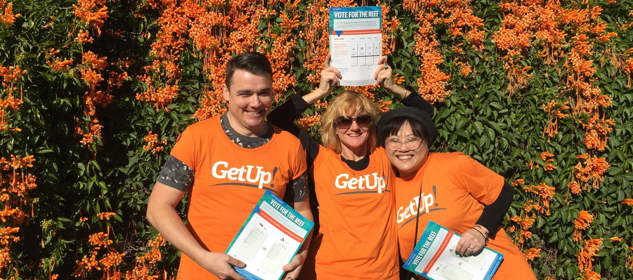 Welcome to the GetUp Action Hub!