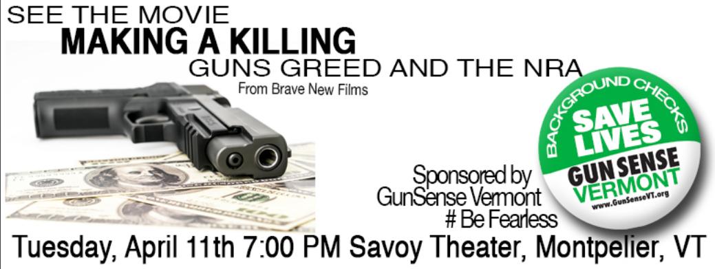 Making a Killing - Guns, Greed, and the NRA