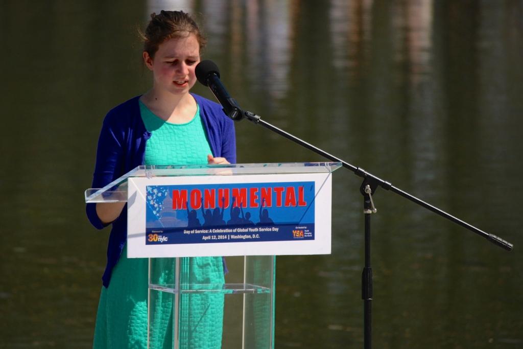 Simone Bernstein, courtesy of Emily Hall for YSA