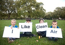 I like clean air campaign