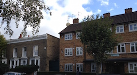 Houses in Hackney