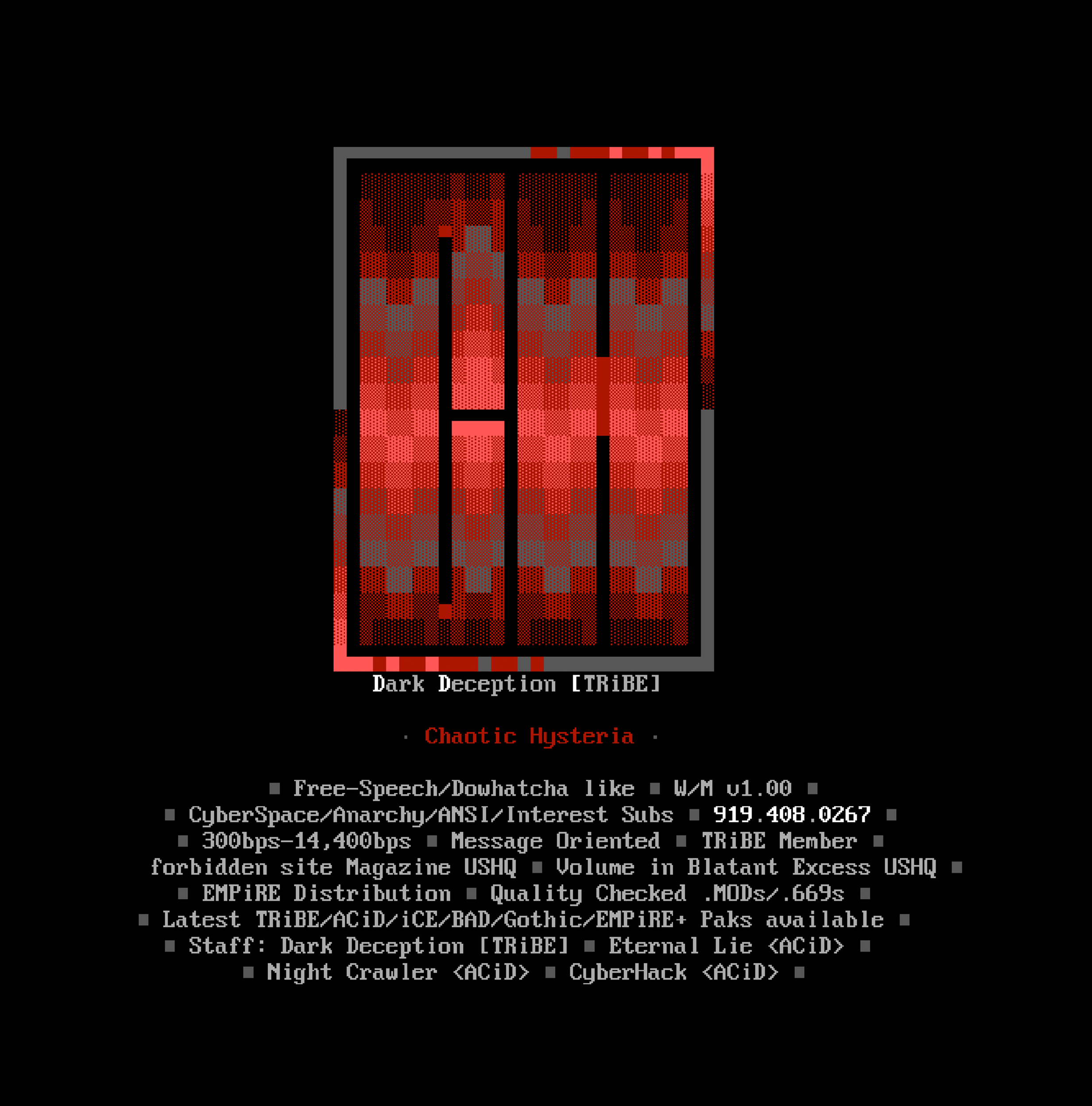 Chaotic Hysteria ANSI