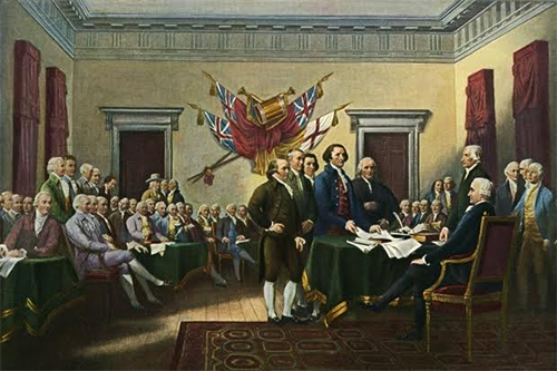 Founding Fathers - Signing of Declaration of Independence