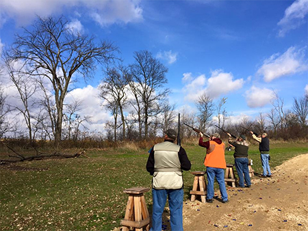 Trap Shooting Event