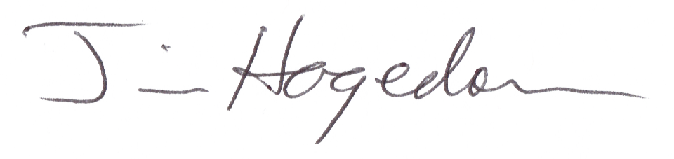Jim Hagedorn's Signature