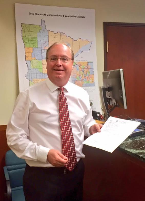 Jim Filing for Office