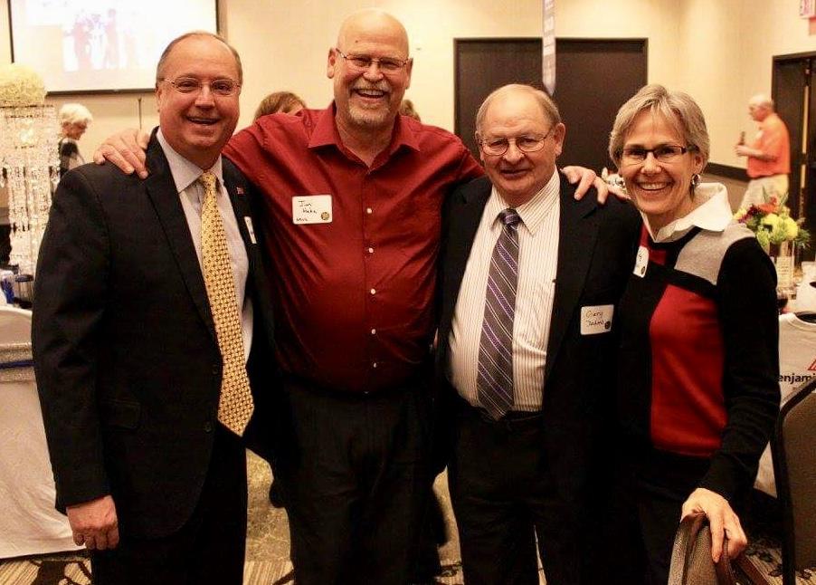 MN State Senator Gary Dahms and Jim and Judy Hahn