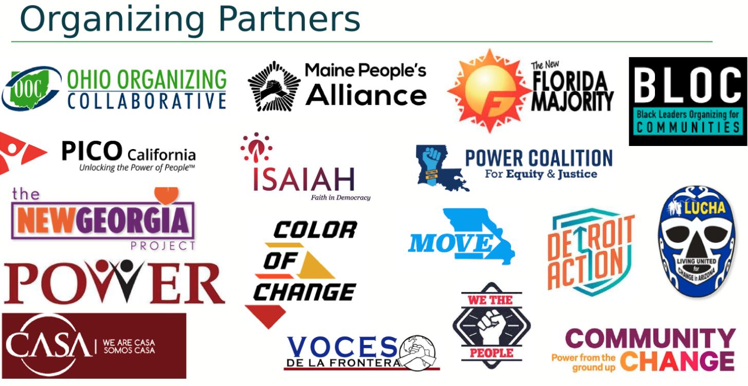 Logos of DPI Organizational Partners
