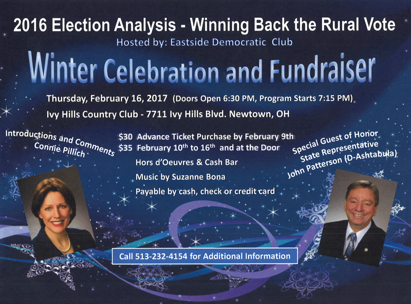 Eastside Democratic Club Winter Celebration And Fundraiser