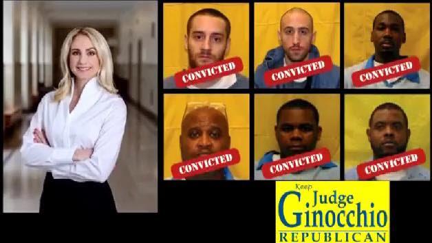 Judge Jackie Ginoccio's Mugshots