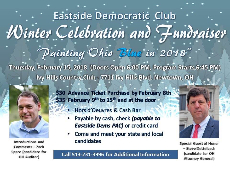 Winter Celebration And Fundraiser Hamilton County Democratic Party
